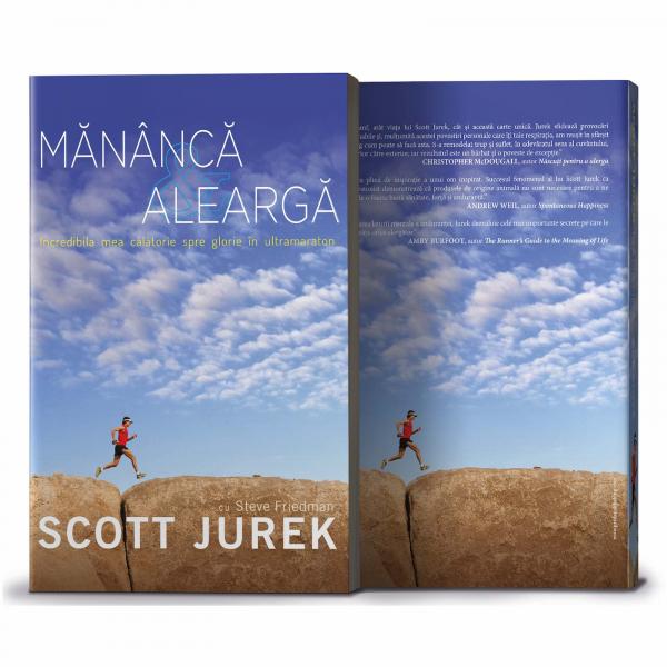 Mananca si alearga, de Scott Jurek 0