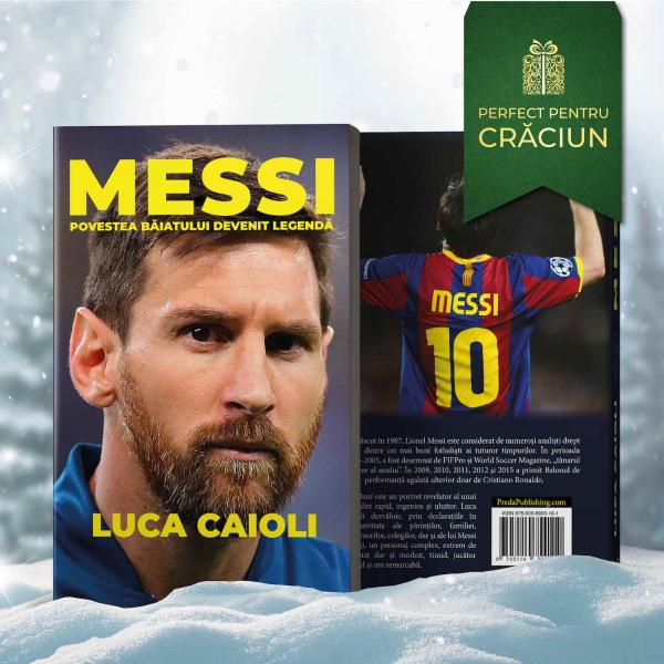 Messi, de Luca Caioli 0