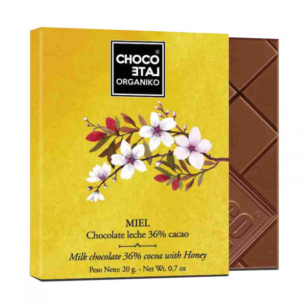Set ciocolata organica blanco 80G 1