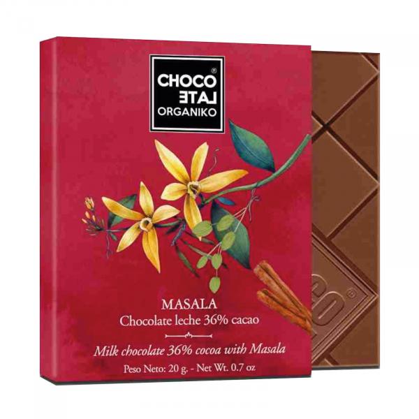 Set ciocolata organica blanco 80G 3