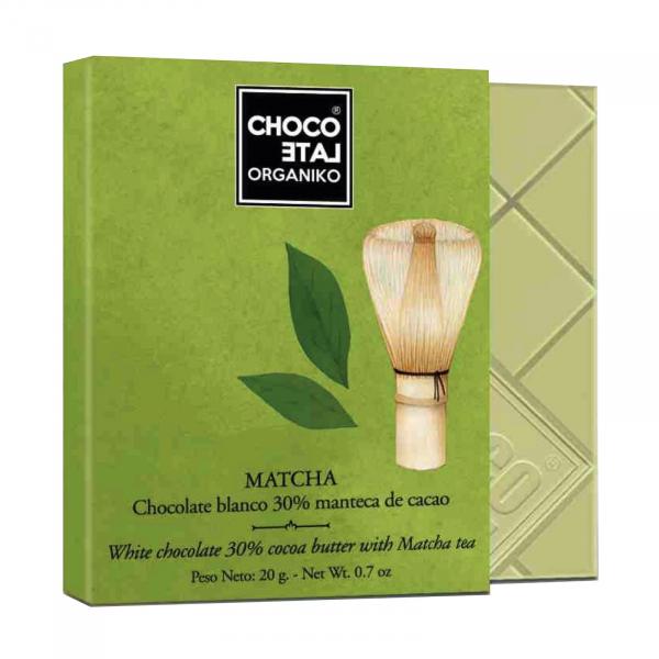 Set ciocolata organica blanco 80G 4