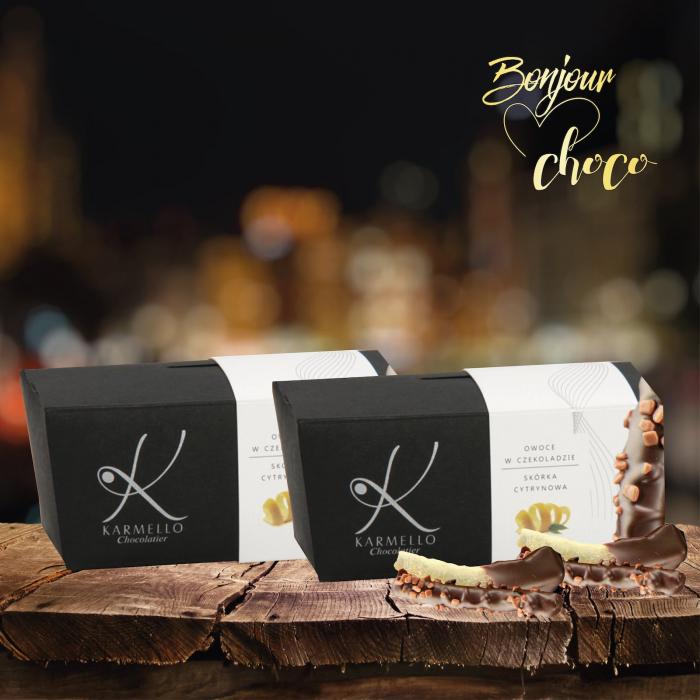 Coaja de lamaie invelita in ciocolata 1