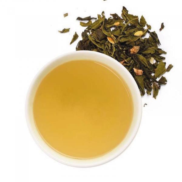 Ceai verde organic cu Yuzu 80G 1