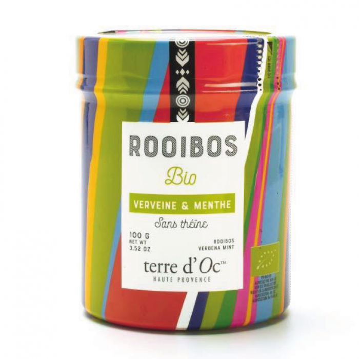 Rooibos organic cu menta si verbina 100G [0]