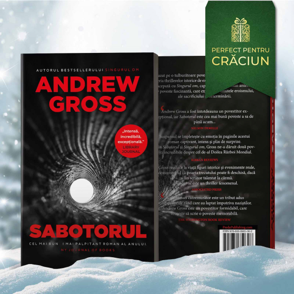 Sabotorul, de Andrew Gross 0