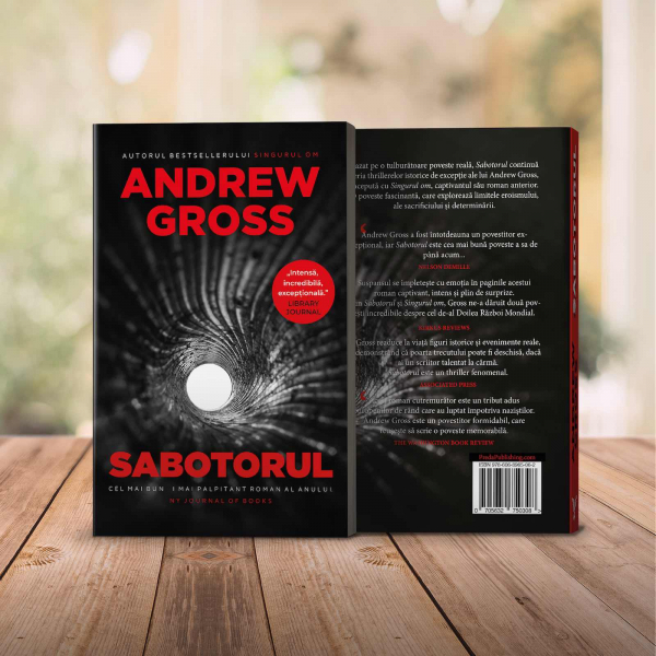 Sabotorul, de Andrew Gross 4