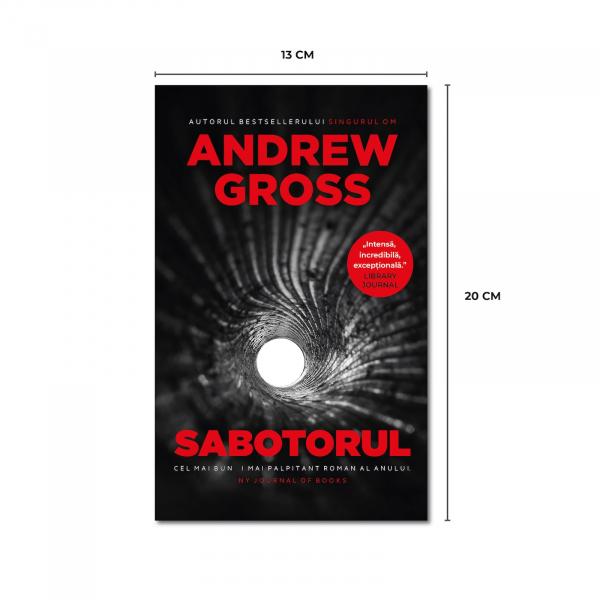 Sabotorul, de Andrew Gross 2