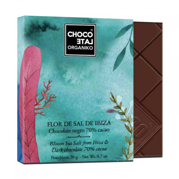Set ciocolata organica negro 80G 1