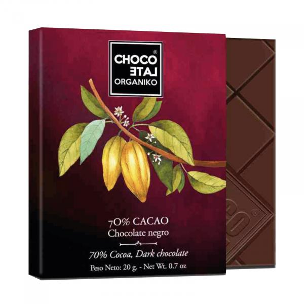 Set ciocolata organica negro 80G 2