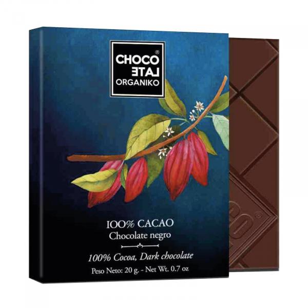 Set ciocolata organica negro 80G 3