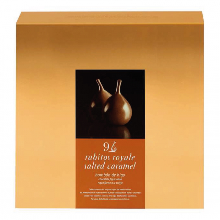 Smochine in ciocolata cu caramel sarat 9U 0