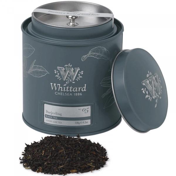 Darjeeling - ceai negru in cutie metalica 0