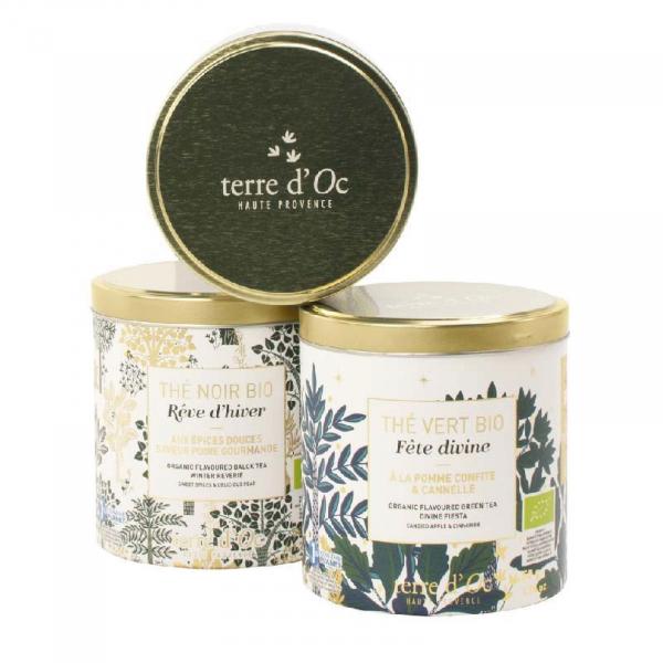 Set cadou - 3 ceaiuri organice de Crăciun 150G 2
