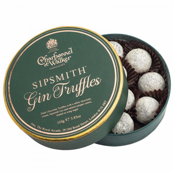 Trufe de ciocolata cu gin Sipsmith 110G 0