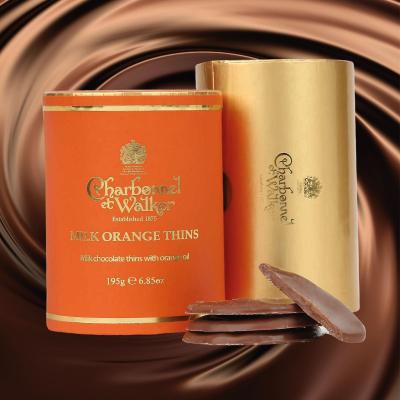 Discuri de ciocolată cu lapte și portocale 195G6