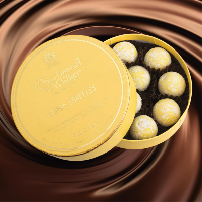Trufe de ciocolată cu lămâie 115G - Produs nou Mai 20201