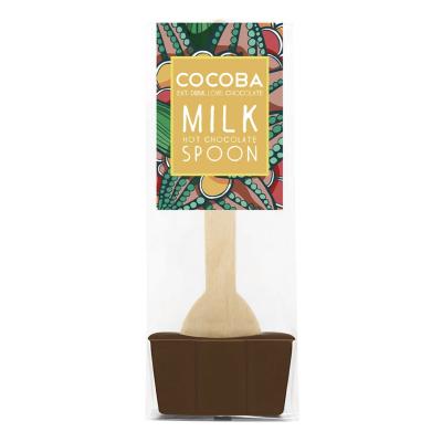 Lingură ciocolată caldă - Ciocolată cu lapte 50G0
