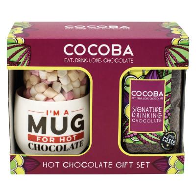 Set cadou ciocolată caldă 250G0