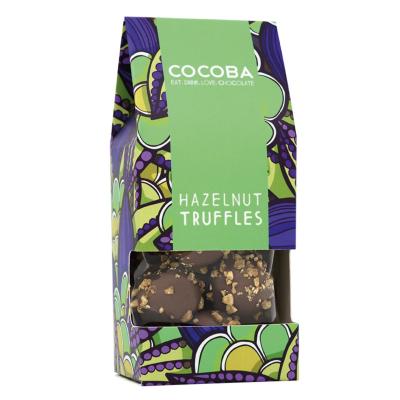 Trufe de ciocolată cu lapte și alune de pădure 120G0