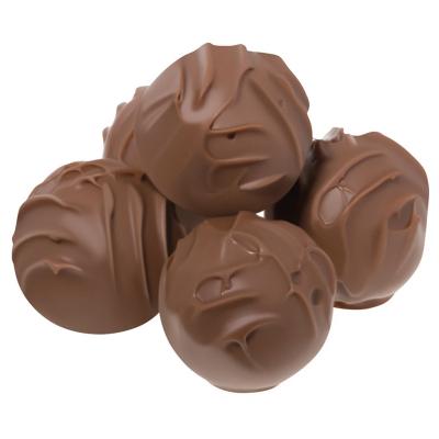 Trufe de ciocolată cu lapte în cutie metalică 120G1