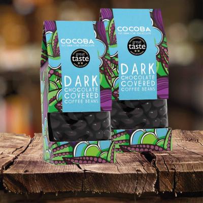 Boabe de cafea învelite în ciocolată neagră 175G3
