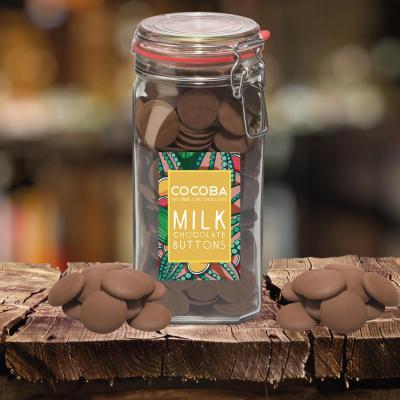 Borcan gigant cu năsturei de ciocolată cu lapte 900G [2]