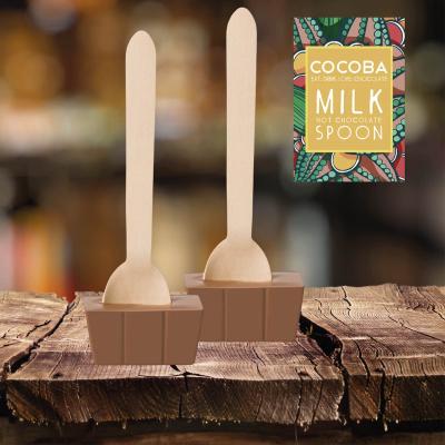 Lingură ciocolată caldă - Ciocolată cu lapte 50G2