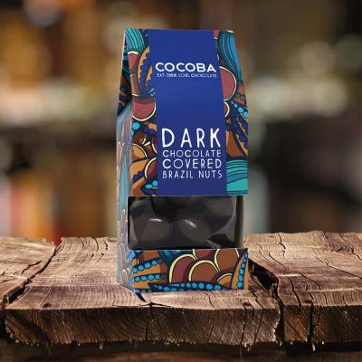 Nuci braziliene învelite în ciocolată neagră 175G2
