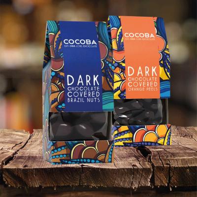 Nuci braziliene învelite în ciocolată neagră 175G4