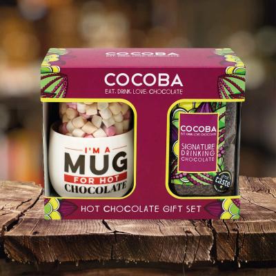 Set cadou ciocolată caldă 250G4