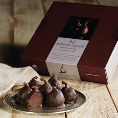 Smochine în ciocolată neagră 142G2