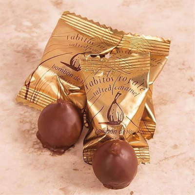 Smochine în ciocolată cu caramel sărat 47G1