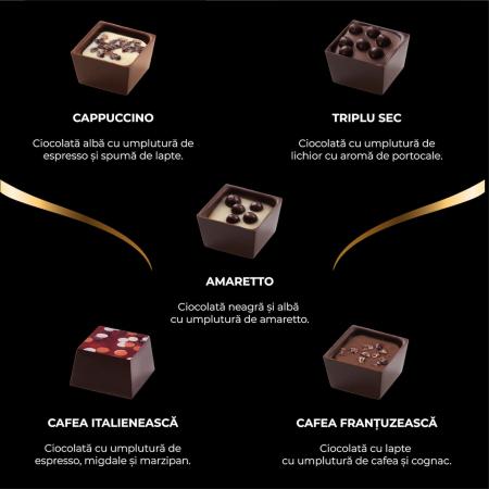 Asortiment bomboane de ciocolată cu cafea2