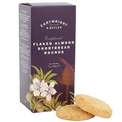 Biscuiți cu fulgi de migdale în cutie carton 200G2