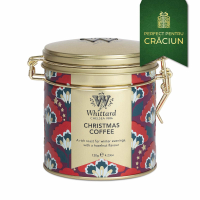 Cafea Crăciun în cutie metalică4