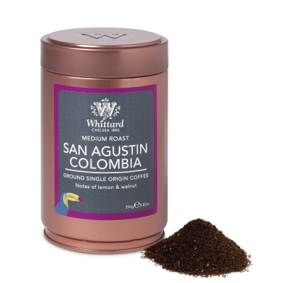 Cafea măcinată în cutie metalică - Columbia1