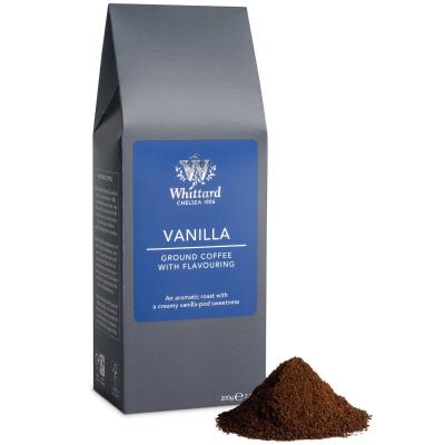 Cafea macinată cu aromă de vanilie1