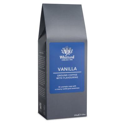 Cafea macinată cu aromă de vanilie0