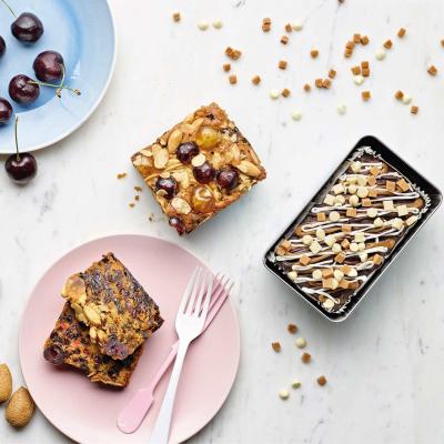 Prăjitură cu caise și smochine 550G1