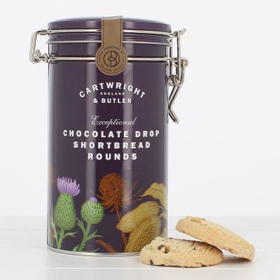 Biscuiți cu ciocolată în cutie metalică 200G1