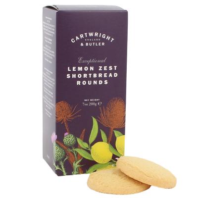 Biscuiți cu lămâie în cutie carton 200G2