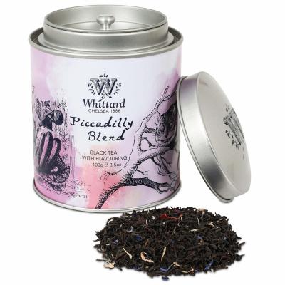 Ceai Picadilly în cutie metalică3