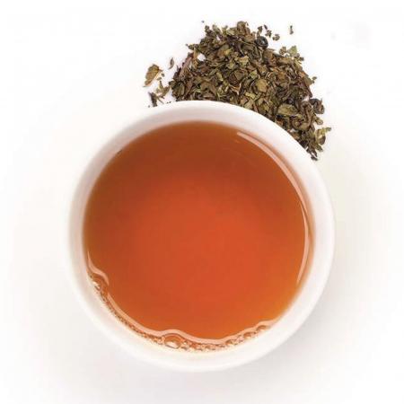 Ceai verde organic cu mentă 100G1