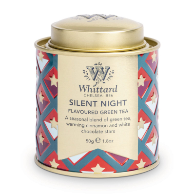 Ceai Silent Night în cutie metalică mini0