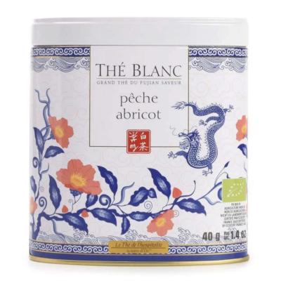 Ceai alb organic cu piersici și caise 40G0
