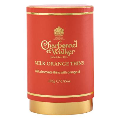 Discuri de ciocolată cu lapte și portocale 195G0