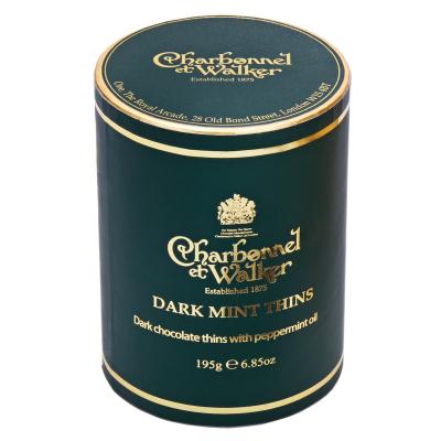 Discuri de ciocolată neagră cu mentă 195G0