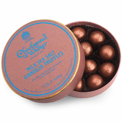 Trufe de ciocolată cu lapte și gianduja 115G - Produs nou Mai 20200
