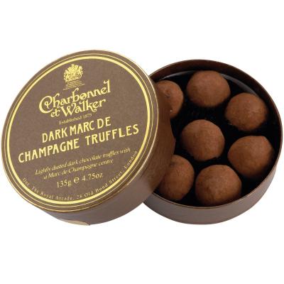 Trufe de ciocolată neagră Marc de Champagne 135G0