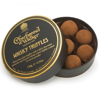 Trufe de ciocolată neagră cu whisky 130G0